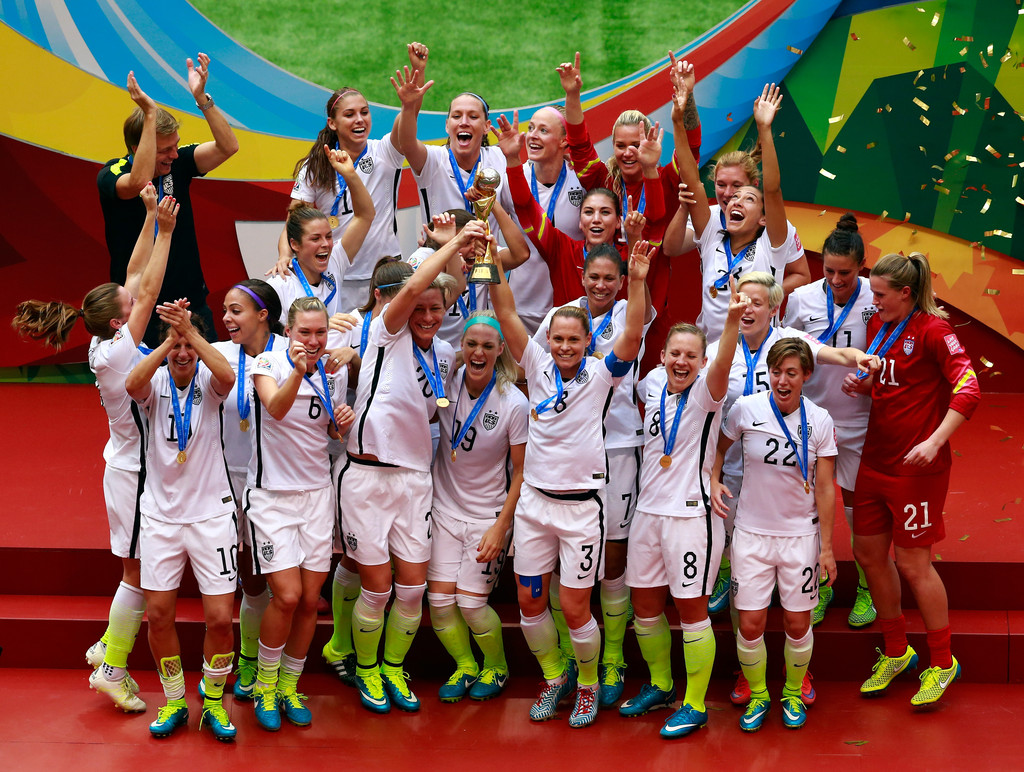 Team wins 2015 fifa women s world cup fairways and forehands
