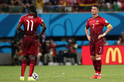 Cristiano Ronaldo and Eder Citadin Martins Photos Photo