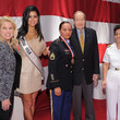Rima Fakih USO Honors Military Women And Women Business Leaders At 45th Annual Woman Of The Year Luncheon