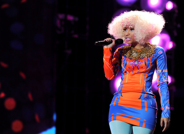Nicki+Minaj in The USO Presents