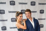 Ana Ortiz and Eric Mabius attend the Ugly Betty Reunion presented with Entertainment Weekly at the ATX Television Festival in Austin, TX on Saturday, June 11, 2016.