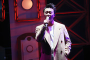 Singer Eason Chan performs onstage during the Ultimate Song Chart Awards Presentation 2017 on January 1, 2018 in Hong Kong, China.