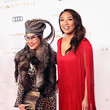 Jeannie Mai and Olivia TuTram Mai Photos