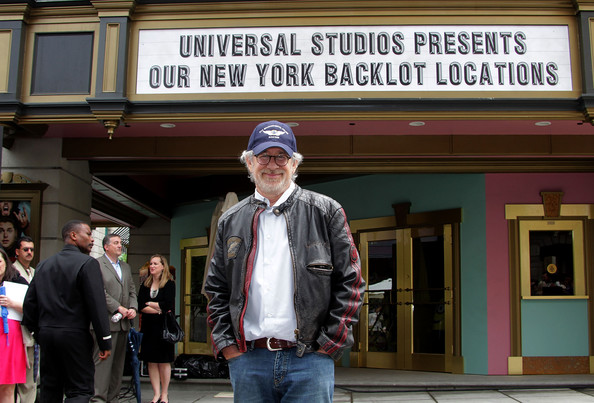 Steven Spielberg Director Steven Spielberg attends the reopening of Univesrsal Studios' backlot on May 27, 2010 in Universal City, California.
