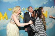 "Gwendoline Christie, Robert Zemeckis, and Janelle Monáe attend Universal Pictures and DreamWorks Pictures' premiere of ""Welcome To Marwen"" at ArcLight Hollywood on December 10, 2018 in Hollywood, California."