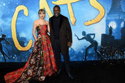 Taylor Swift and Idris Elba attend The World Premiere of Cats, presented by Universal Pictures on December 16, 2019 in New York City.