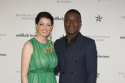 Jessica Oyelowo and David Oyelowo pose for a photo at the Unlikely Heroes 6th Annual Recognizing Heroes Charity Benefit  at The Ritz-Carlton, Dallas on October 27, 2018 in Dallas, Texas.