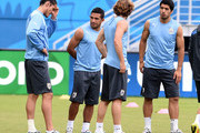 Luis Suarez and Edinson Cavani Photos Photo