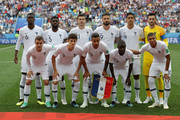 Francepose for a team photo prior to the 2018 FIFA World Cup Russia Quarter Final match between Uruguay and France at Nizhny Novgorod Stadium on July 6, 2018 in Nizhny Novgorod, Russia.