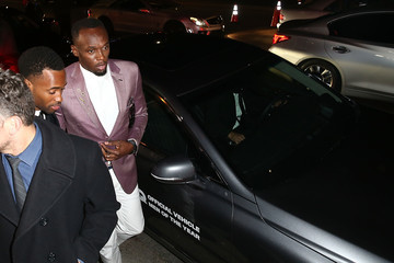 Usain Bolt Genesis G90 Arrivals and Atmosphere at GQ's Men of the Year Event