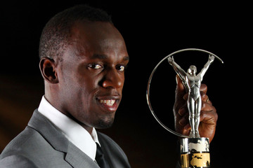 Usain Bolt Winners Studio - 2013 Laureus World Sports Awards