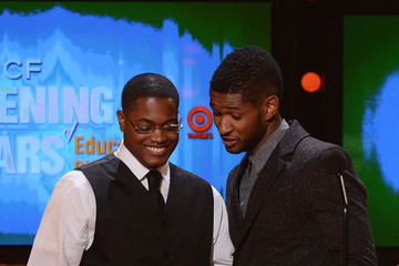 Usher Ammon Lyle UNCF Hosts The 33rd Annual An Evening With The Stars - Show