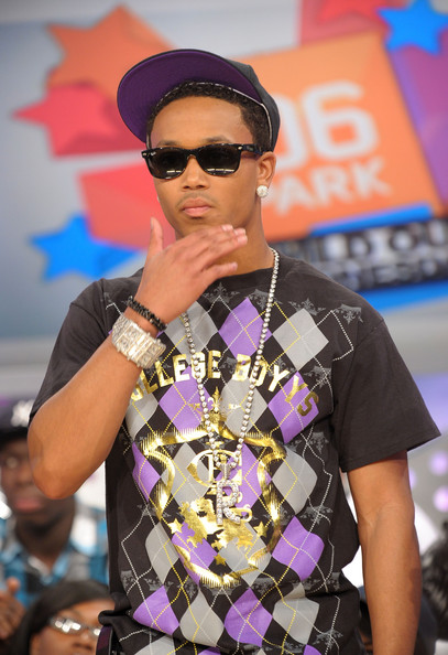 "Rapper Romeo visits BET's ""106 & Park"" at BET Studios on March 24, 2010 in New York City."