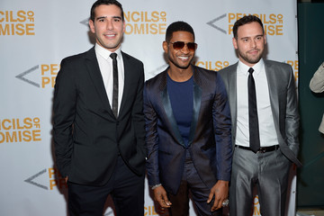 Usher Scooter Braun Second Annual Pencils Of Promise Gala