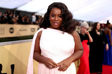 Uzo Aduba 24th Annual Screen Actors Guild Awards - Red Carpet