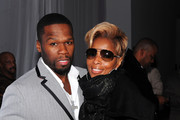 50 Cent and Mary J. Blige Photos Photo