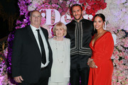 """(L-R) Rick Kaepernick, Teresa Kaepernick, Colin Kaepernick and Nessa attend the VH1's 3rd Annual """"Dear Mama: A Love Letter To Moms"""" - Cocktail Reception at The Theatre at Ace Hotel on May 3, 2018 in Los Angeles, California."""