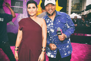 This image has been altered with digital filters)  Singer Nelly Furtado (L) and rapper/producer Timbaland attend the VH1 Hip Hop Honors: All Hail The Queens at David Geffen Hall on July 11, 2016 in New York City.