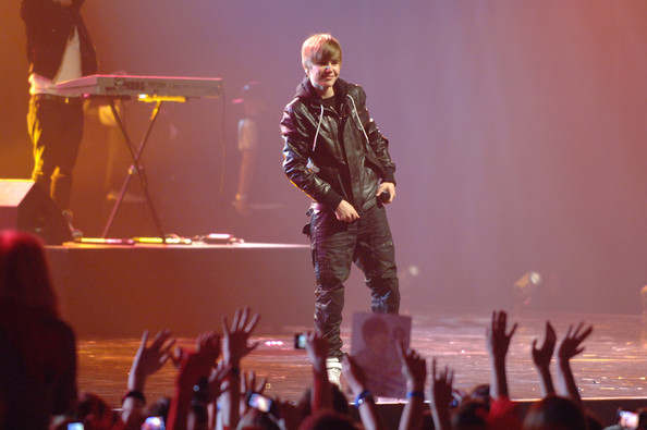 Justin Bieber performs during