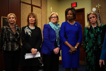 Val Demings Female U.S. Reps Call for Investigation Into Trump's Sexual Misconduct