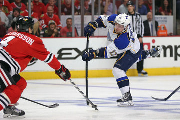 Valdimir Sobotka St Louis Blues v Chicago Blackhawks - Game Three