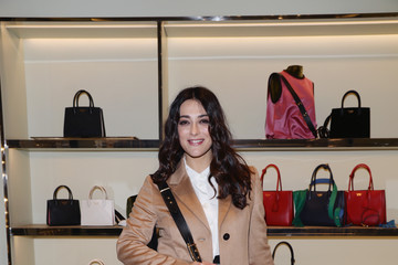 Valentina Lodovini Prada Hosts A Cocktail Reception To Present The Resort 2017 Collection In Its Rome Stores
