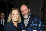Marthe Keller and Luca Guadagnino attend the Valentino Haute Couture Spring/Summer 2020 show as part of Paris Fashion Week on January 22, 2020 in Paris, France.