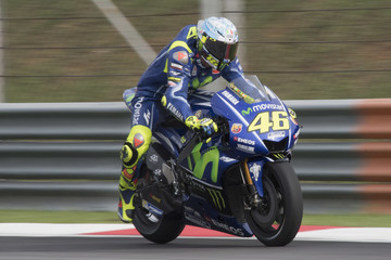 Valentino Rossi MotoGP Tests In Sepang