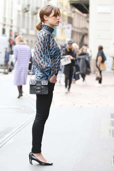 Valeria Bilello Photos Photos Street Style February 25 Milan Fashion Week Fall Winter 2016