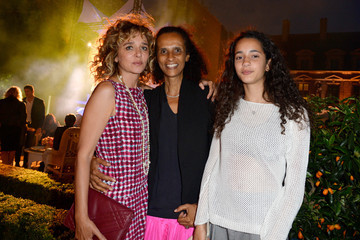 Valeria Golino Iman Perez Celebs Attend the Tory Burch Paris Flagship Opening After Party