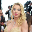 Valeria Marini 'The Beguiled' Red Carpet Arrivals - The 70th Annual Cannes Film Festival