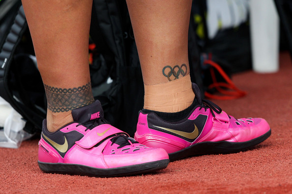 Valerie adams pictures new zealand track and field for Track and field tattoos
