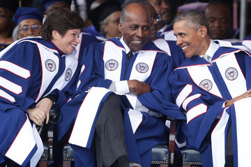 Valerie Jarrett President Obama Delivers Commencement Address at Howard University