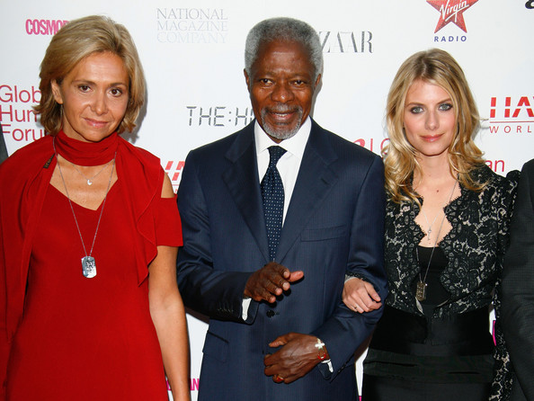 """Kofi Annan and Havas Worldwide Launch """"Beds Are Burning"""" - Red Carpet"""