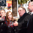 Isabelle Huppert and Gerard Depardieu