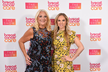 Vanessa Feltz Allegra Kurer Breast Cancer Care Show London