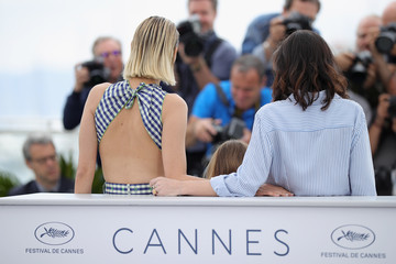 Vanessa Filho 'Angel Face (Gueule D'Ange)' Photocall - The 71st Annual Cannes Film Festival