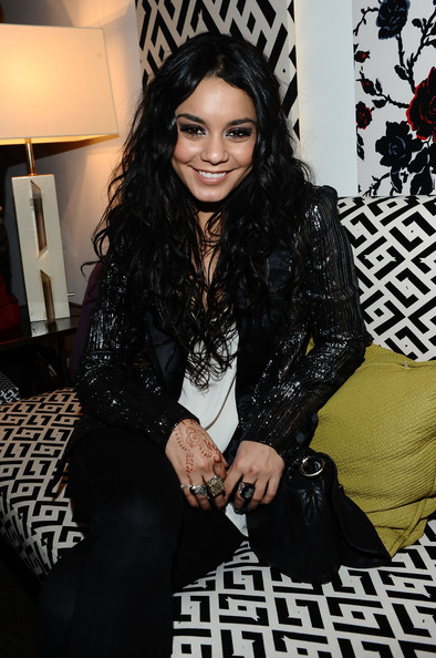 Vanessa Hudgens Actress Vanessa Hudgens attends Mercedes-Benz Fashion Week Fall 2011 at Lincoln Center on February 15, 2011 in New York City.