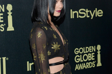 Vanessa Hudgens Hollywood Foreign Press Association and InStyle Celebrate the 2016 Golden Globe Award Season