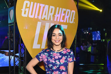 Vanessa Hudgens Activision Reveals The All-New Guitar Hero Live Game In New York City