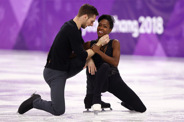 Vanessa James Figure Skating - Winter Olympics Day 6