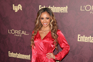 Vanessa Morgan FIJI Water At Entertainment Weekly Pre-Emmy Party