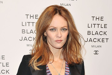 Vanessa Paradis Arrivals at a Chanel Event in Milan