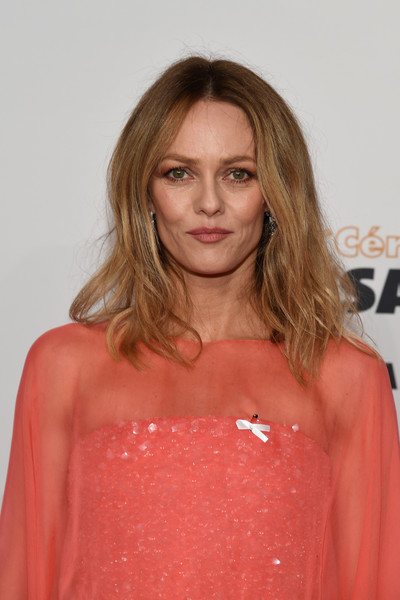 vanessa paradis photos photos red carpet arrivals cesar film awards 2018 at le fouquet 39 s in. Black Bedroom Furniture Sets. Home Design Ideas
