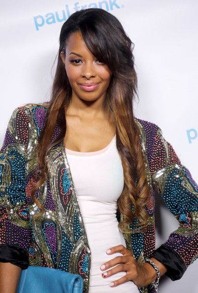 Vanessa Simmons Actress Vanessa Simmons attends Paul Frank Fashion's