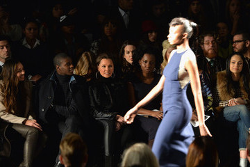 Vanessa Williams Front Row at the Carmen Marc Valvo Show