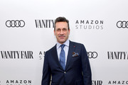 Jon Hamm attends Vanity Fair, Amazon Studios and Audi Celebrate The 2020 Awards Season at San Vicente Bungalows on January 04, 2020 in West Hollywood, California.