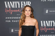 Elizabeth Chambers as the Vanity Fair And Annenberg Space For Photography Celebrate The Opening Of Vanity Fair: Hollywood Calling, Sponsored By The Ritz-Carlton at Annenberg Space For Photography on February 04, 2020 in Century City, California.