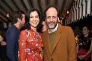 Vanity Fair Editor-in-Chief Radhika Jones (L) and Luca Guadagnino attend the Vanity Fair and Barneys New York celebration of Sony Pictures Classics' 'Call Me By Your Name' on February 28, 2018 in Los Angeles, California.
