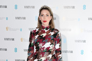 Katherine Ryan attends the Vanity Fair EE Rising Star BAFTAs Pre Party at The Standard on January 22, 2020 in London, England.